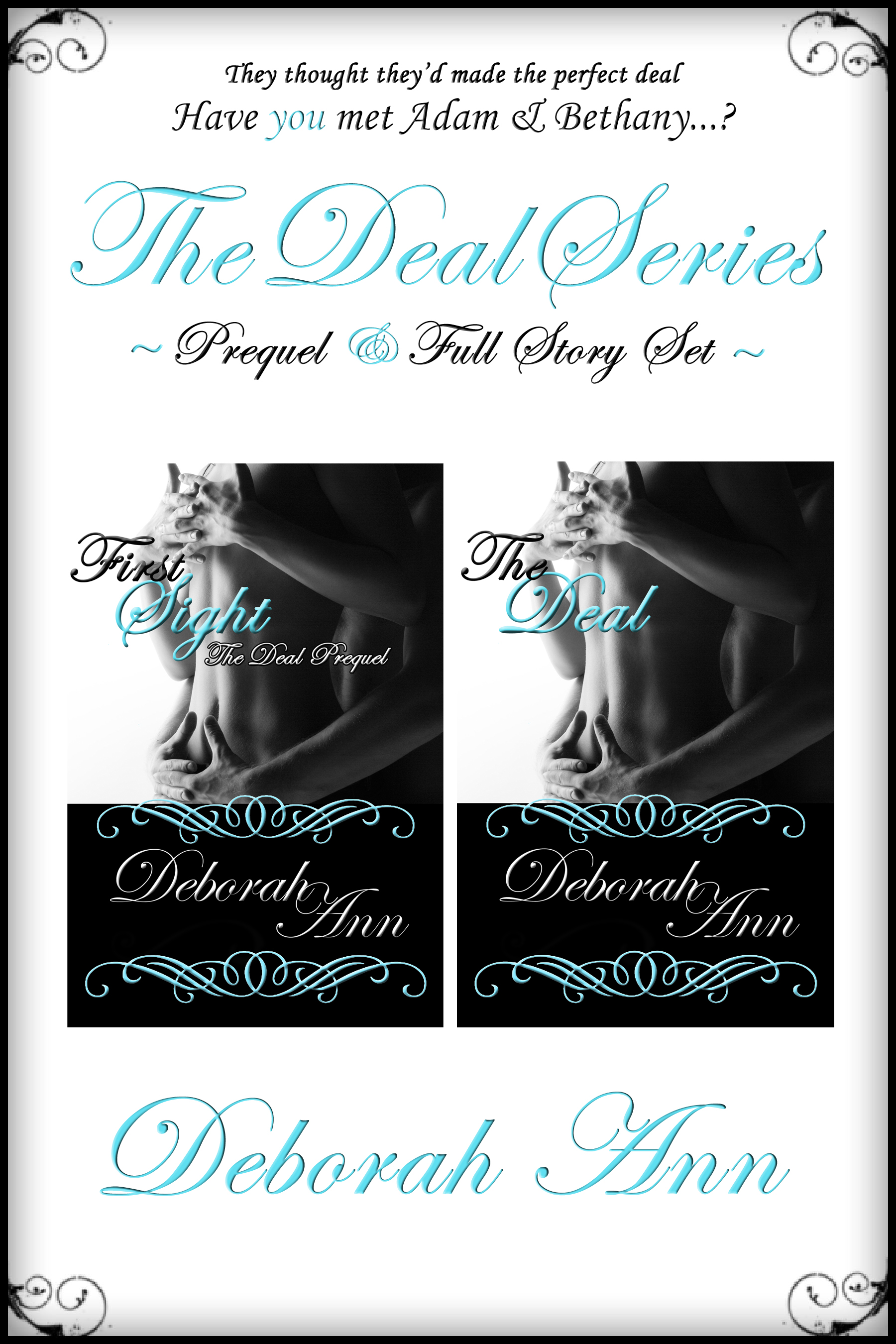The Deal Series Boxed Set ~ Pixel Border 6 x 9 Flat